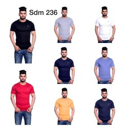 Half Sleeves Mens Printed T Shirt