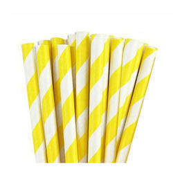 Disposable Fruit Juice Paper Straw