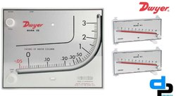 Dwyer Mark II MM -80 Manometer 0-80 MM WC