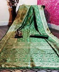 Fancy Banarasi Silk Ladies Indian Wear Saree
