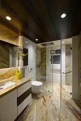 Beige Italian Marble Flooring Service
