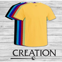 Creation Plain Half Sleeves T-shirt