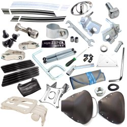 Lambretta Accessories Parts For GP LI TV SX Vijay Super Scooter