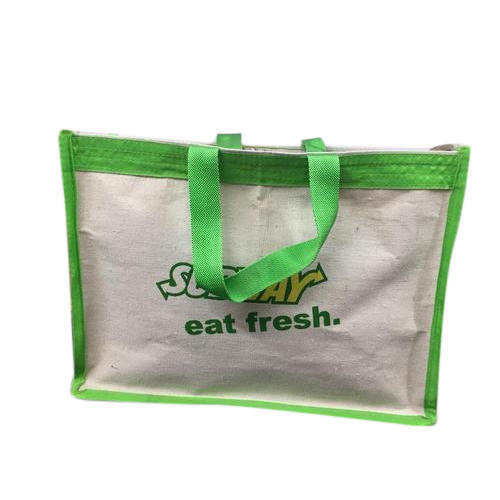 d0ad350ce Canvas Cotton Printed Carry Bag, Rs 33 /piece, Dishika Gift India ...