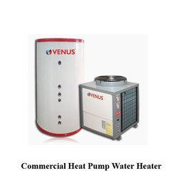 Venus Commercial Heat Pump Water Heater, 400-440v/3ph/50hz, Size: 810 X 810 X 1060 Mm