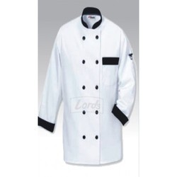 Chef Coat Executive Chef Wear White Double Breasted Cook Coat