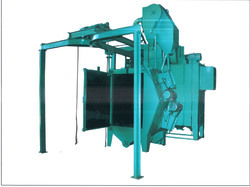 Hanger Type Y Shape Mono Rail Shot Blasting Machine