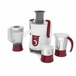 700 W HL7715 Philips Juicer Mixer Grinder, For Home, Capacity: 3 Jars