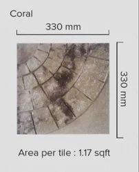 Grey Coarl Floor Tile