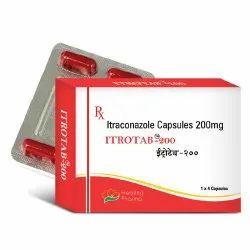 Itrotab 200 Capsule - Itraconazole 200mg
