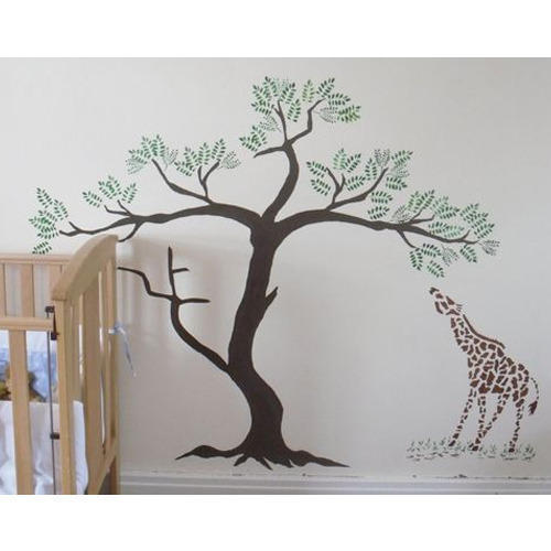 Tree Stencils Wall Painting Service