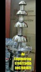 Chocolate Fountain Machine 4 layer