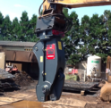 Rail Cutting Shear Attachment