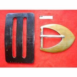 Horn Belt Buckle, Packaging Type: Box