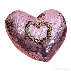 Heart Bling Pillow