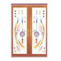 Rectangular Designer Glass Windiw Door, Shape: Rectangle