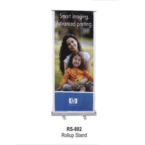Roll Up Banner Stand, Size: 3-4 Feet