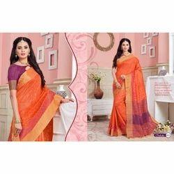 Sakshi Tussar Silk Saree