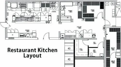 Kitchen Flooring Ideas The Top 25 Trends Of The Year Commercial Kitchen Restaurant Kitchen Floor Plan