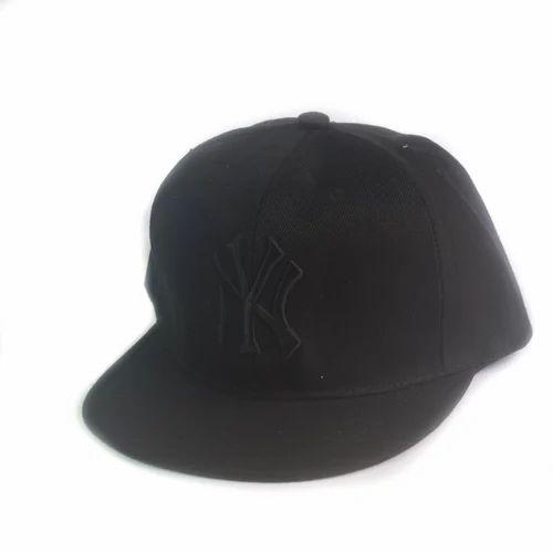 d4af585637d Black NY Hip Hop Cap