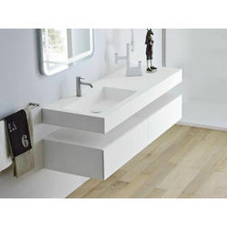 Solid Acrylic Cabinet Table Top Wash Basin Rs 700 Square Feet Id