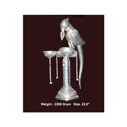 Silver Plated Parrot Handicraft