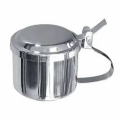 Stainless Steel Sputum Mug with Cover