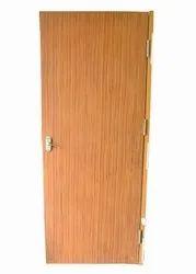 Brown Powder Coated Metal Door, For Home, Single