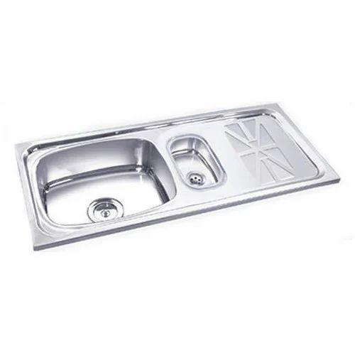 Single Bowl Mini Bowl With Drain Board Kitchen Sink