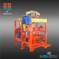 Stationary Concrete Block Making Machine