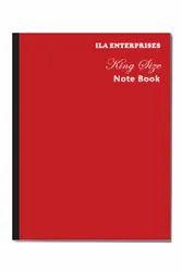ILA Enterprises King Size College Notebook