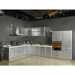 Commercial Stainless Steel Modular Kitchen, in Delhi (ncr), Warranty: 1-5 Years