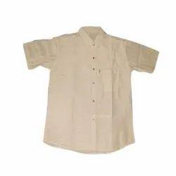 Abu Textile Mens Plain Cotton Shirt