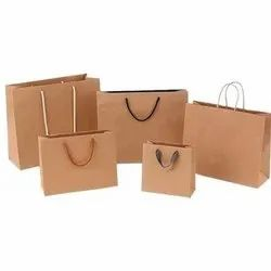 Unbleached Straw Pulp KRAFT PAPER FOR PAPER BAG, Packaging Type: Roll, 60-100