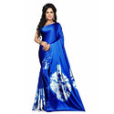 Designer Royal Blue Shibori Saree