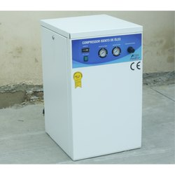 Anest Iwata DA2000-25VM 2 HP Oil Free Dental Air Compressor, Air Tank Capacity: 24 L