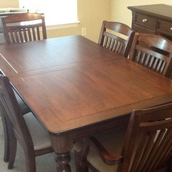 Second Hand Dining Table Used, Used Wood Dining Room Set