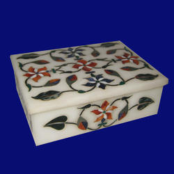 Handcarved Marble  Box