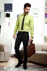 Green Color Men's Unstitched Formal Uniform Shirt and Pant