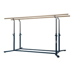 Gymnastics Parallel Bars with Fiberglass Bars G100