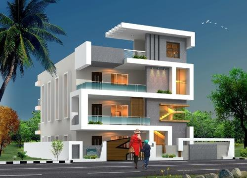 Exterior Design Of Houses In Delhi