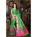 Ladies Indian cotton Silk Saree