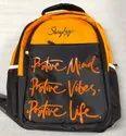 Polyester Printed Sky School Bag
