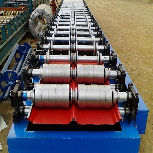 Aluminum Roofing Sheet Roll Forming Machine छत के लिए