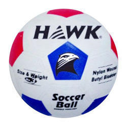 Rubber Molded Hawk Strike Soccer Ball