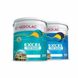 Nerloac Nerolac Excel Top Guard Exterior Wall Paint, Packaging Type: Bucket