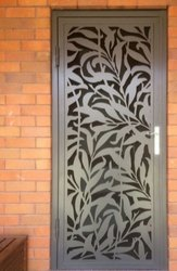 CNC Laser Cutting Mild Steel Safety Doors, Home Decoration