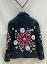 Women Hand work Leather Jacket