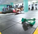 Interlocking Gym Floor Mat With Sound Resistance