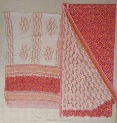 Batik Salwar Suit Material